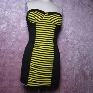 Bumblebee bodycon dress